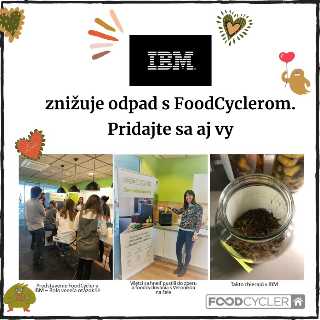 FoodCycler v IBM s Veronikou