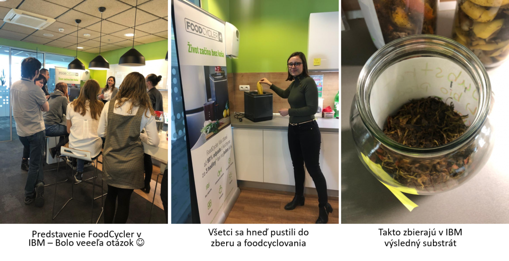 IBM team skúša FoodCycler